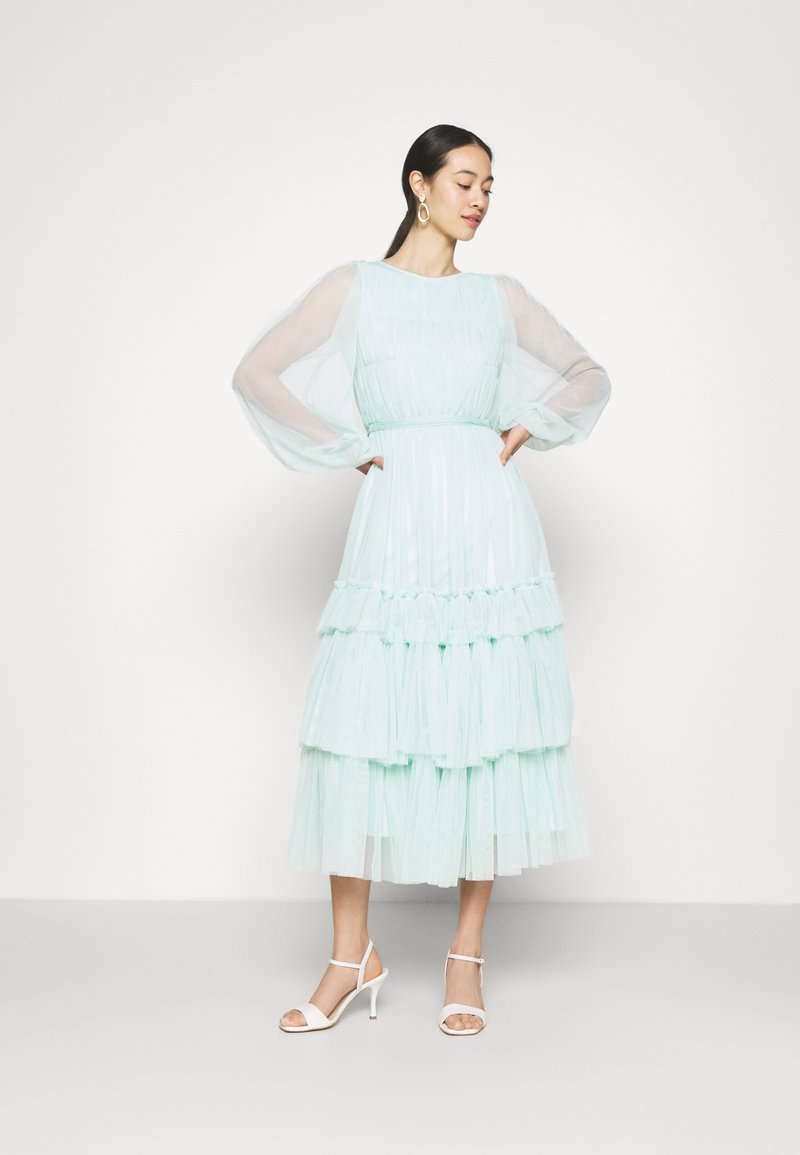 Lace & Beads - ROSEMARY MIDI - Cocktail dress / Party dress - mint