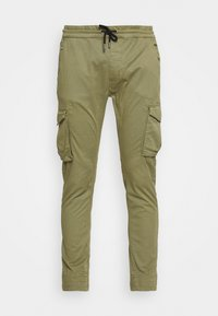 JOGGER - Cargo trousers - olive