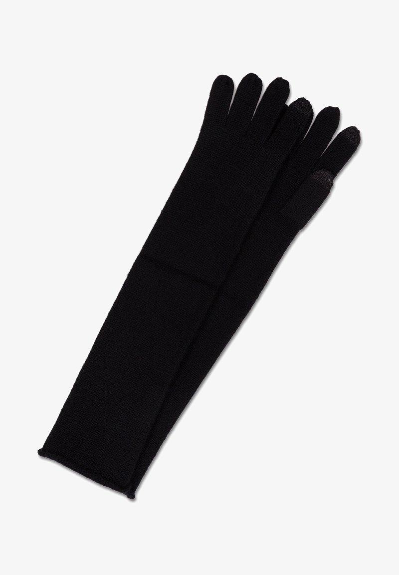 CASH-MERE - LANG - Gloves - schwarz