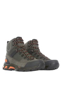 The North Face - M CRESTVALE FUTURELIGHT - Hiking shoes - new taupe green/tnf black - 2