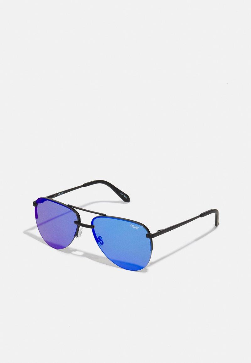 QUAY AUSTRALIA - THE PLAYA - Sunglasses - black/cobalt