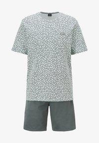 BOSS - SET - Pyjama set - dark green - 4