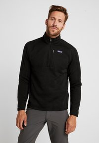 Patagonia - BETTER 1/4 ZIP - Sweat polaire - black - 0