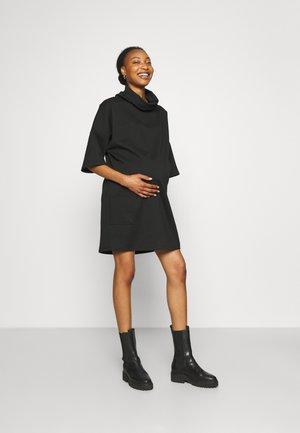 PONTE - Jersey dress - black