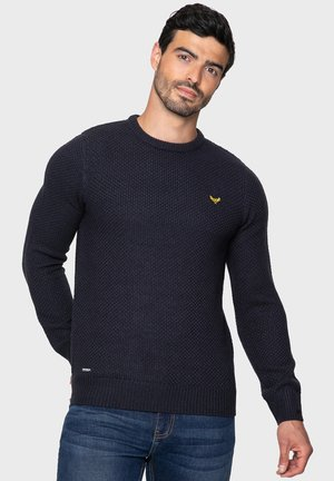 BLUEJAY - Stickad tröja - navy