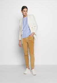 Fransa - FRHACORDUROY PANTS - Trousers - sesame - 1