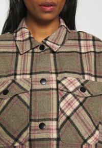 ONLY - ONLELLENE VALDA CHACKET - Summer jacket - balsam green/pink/black - 5