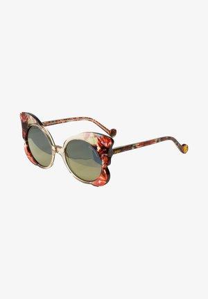 Sonnenbrille - crysta/red