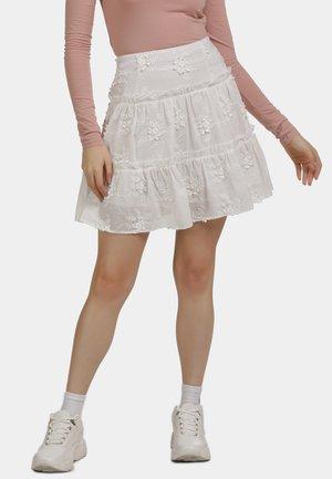 ROCK - A-line skirt - weiss