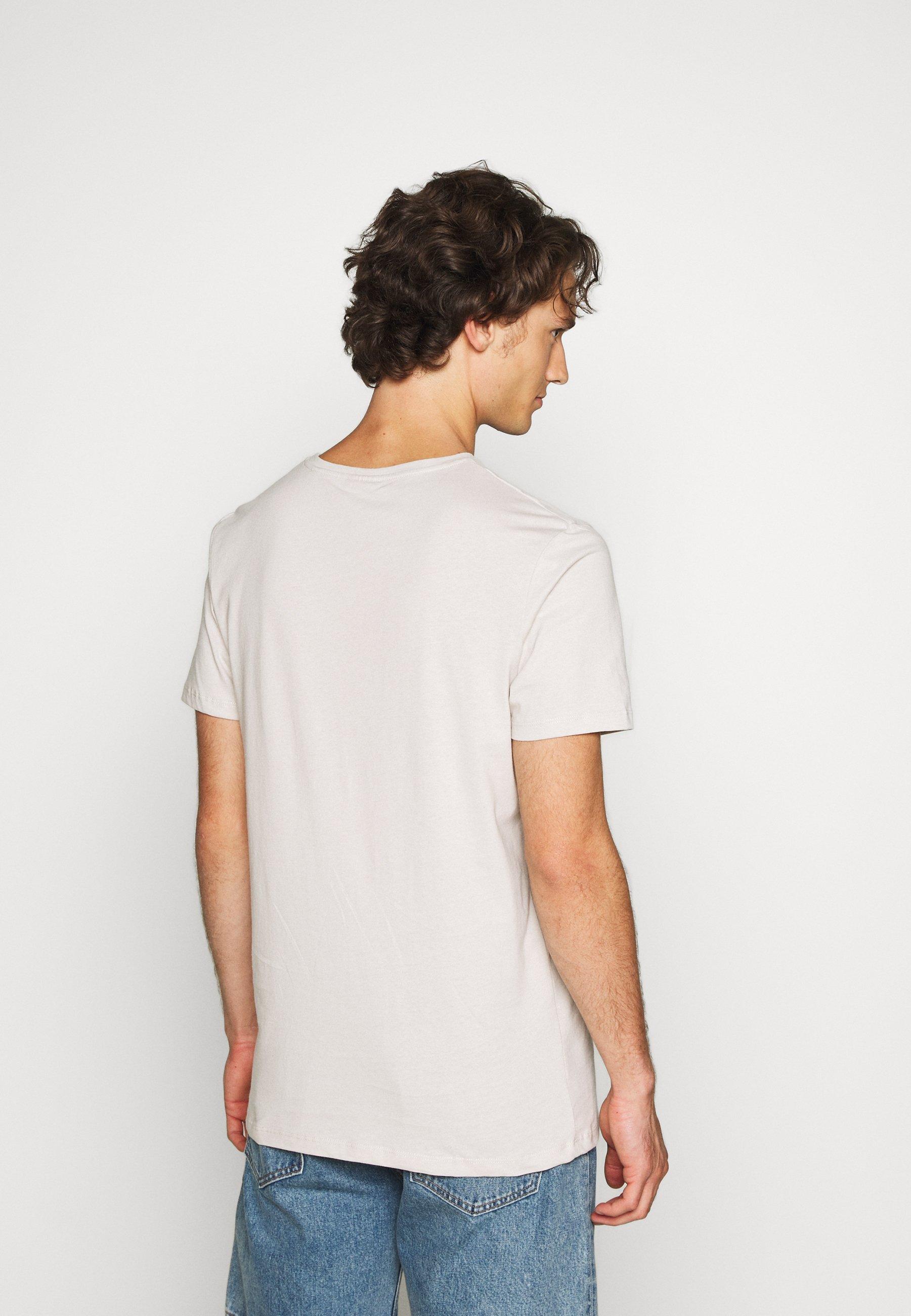 Jack & Jones JCORICCO TEE CREW NECK - Print T-shirt - antarctica 5oxIA