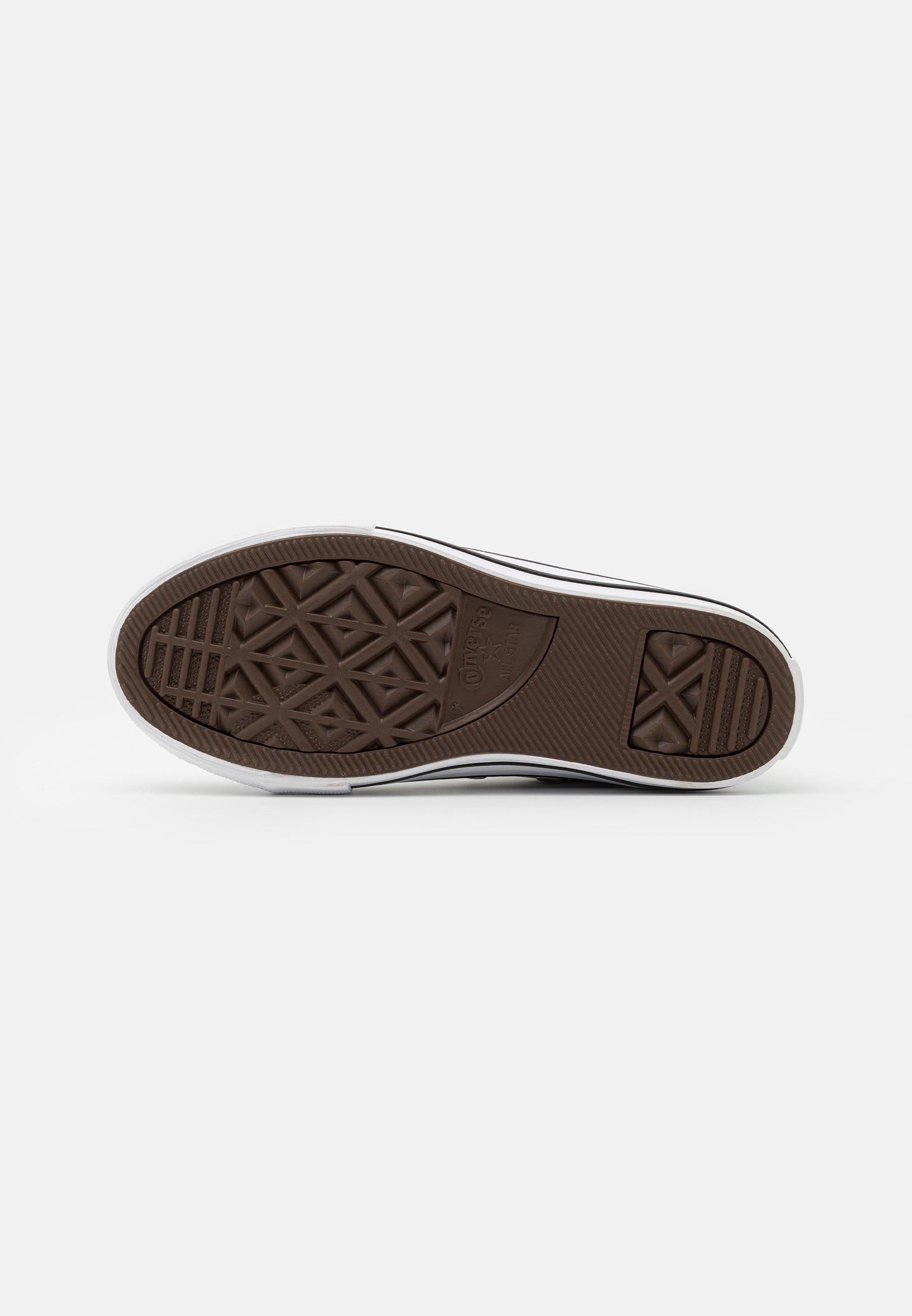Converse CHUCK TAYLOR ALL STAR - Sneakers alte - metallic granite ...