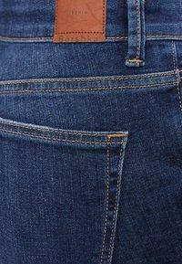 Bershka - MIT HOHEM BUND  - Jeans Skinny Fit - blue-black denim - 5