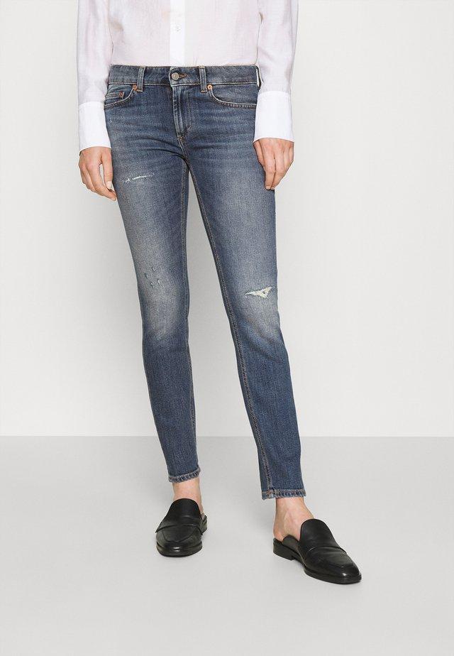 PANTALONE MONROE - Jeans Skinny Fit - blue denim