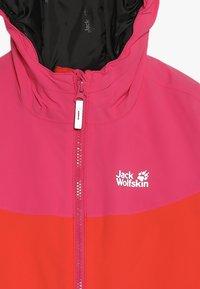 Jack Wolfskin - POWDER MOUNTAIN JACKET GIRLS - Outdoorjacke - orange/coral - 5