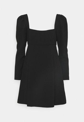 PUFF SLEEVE DRESS - Cocktail dress / Party dress - black
