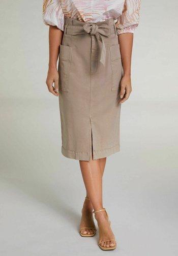 Pencil skirt - plaza taupe