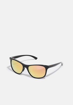 LEADLINE UNISEX - Sunglasses - black/rose gold coloured