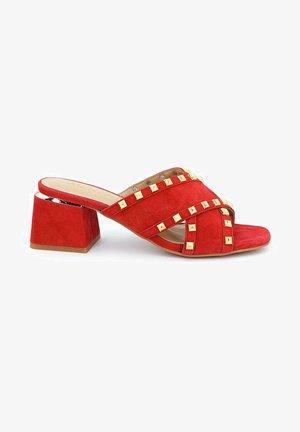 VULCANO - Sandals - red