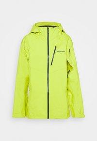 Patagonia - SNOWDRIFTER - Snowboard jacket - chartreuse - 0