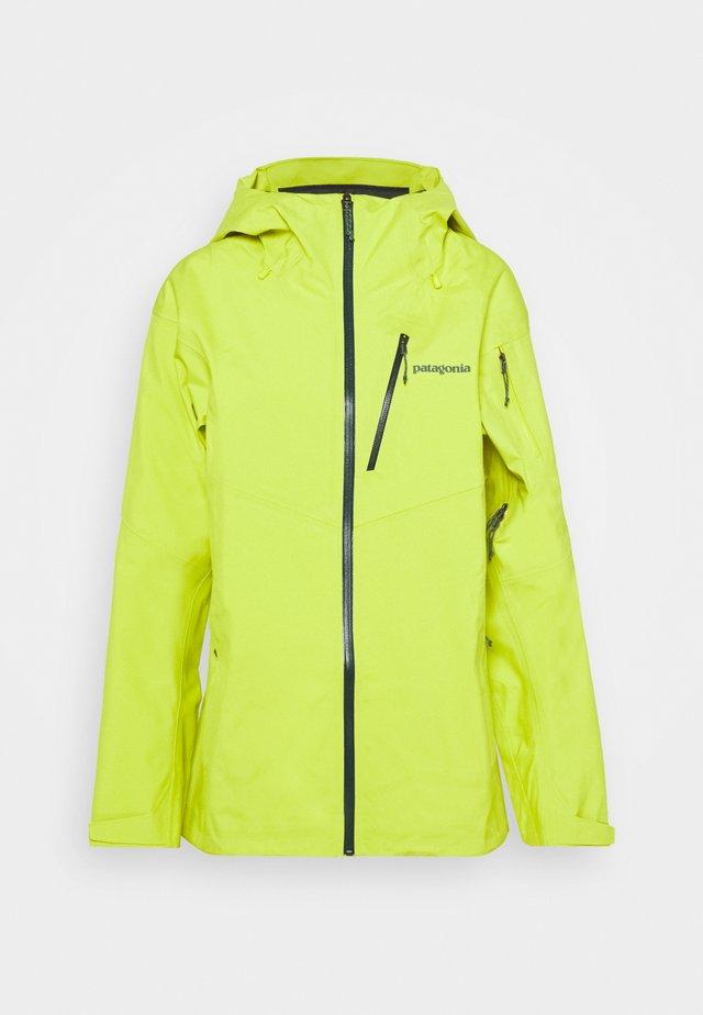 SNOWDRIFTER - Laskettelutakki - chartreuse