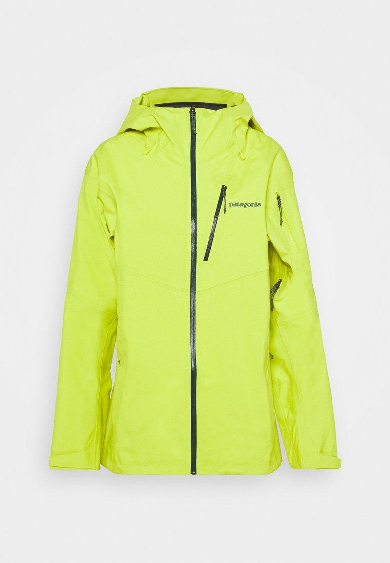 Patagonia - SNOWDRIFTER - Snowboard jacket - chartreuse