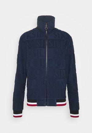INVERSE HIGH NECK - Sweatshirt - navy/red/white