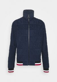 SIKSILK - INVERSE HIGH NECK - Sweater - navy/red/white - 3