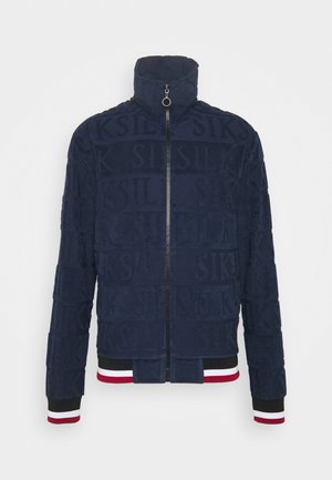 INVERSE HIGH NECK - Sudadera - navy/red/white