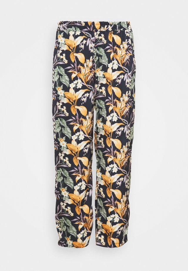 Broek - multicolor/black
