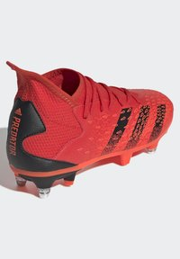 adidas Performance - PREDATOR FREAK - Moulded stud football boots - red - 2