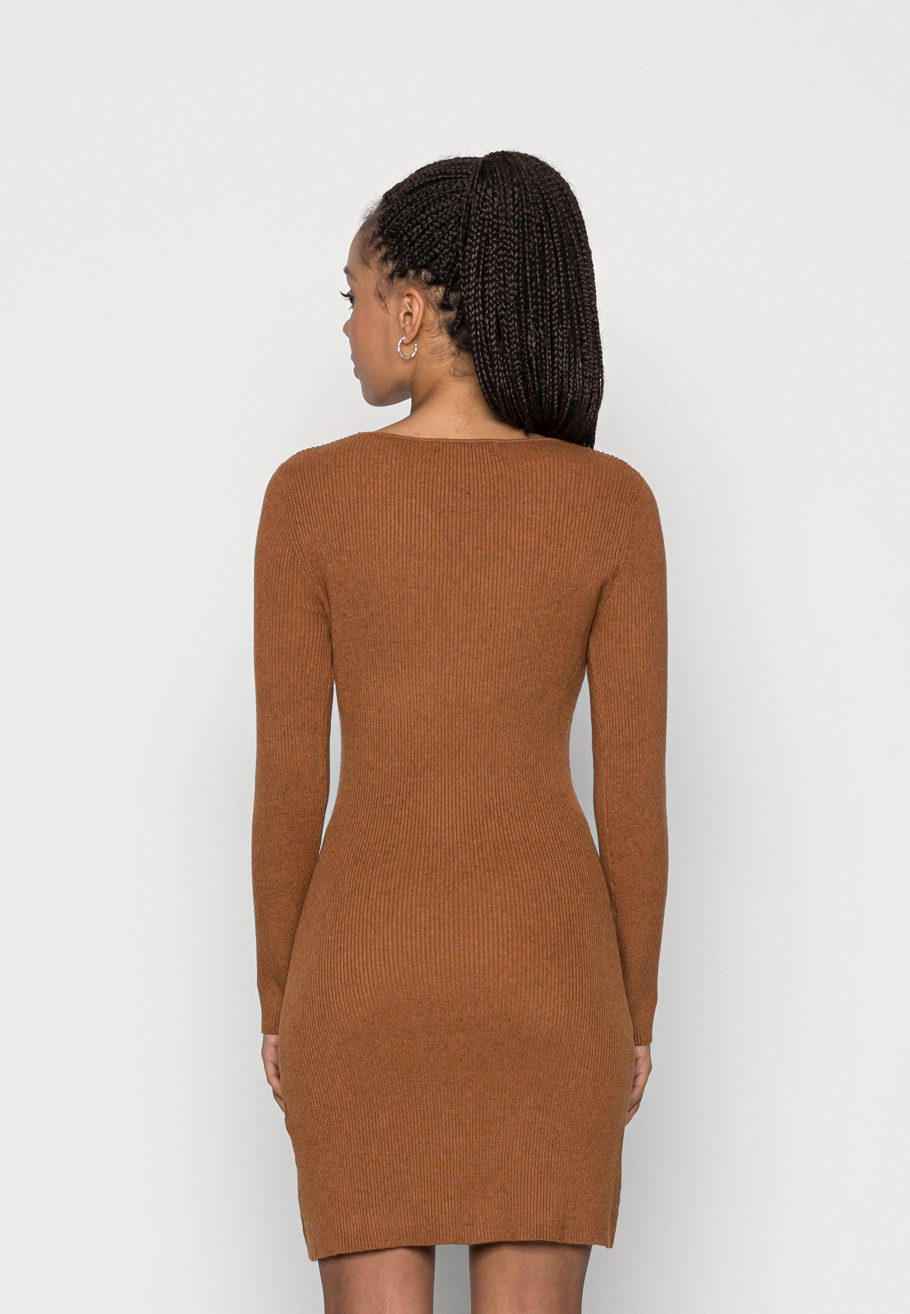 Donna OBERLIN GATHERED DETAIL DRESS - Abito in maglia