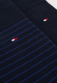 Tommy Hilfiger - MEN SMALL STRIPE SOCK 2 PACK - Strumpor - blue - 1