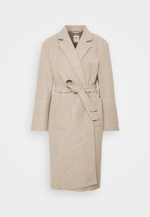 Klassinen takki - humus/melange