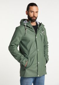 Schmuddelwedda - Waterproof jacket - green - 0
