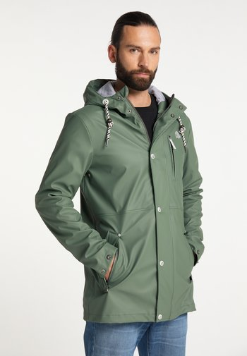 Waterproof jacket - green