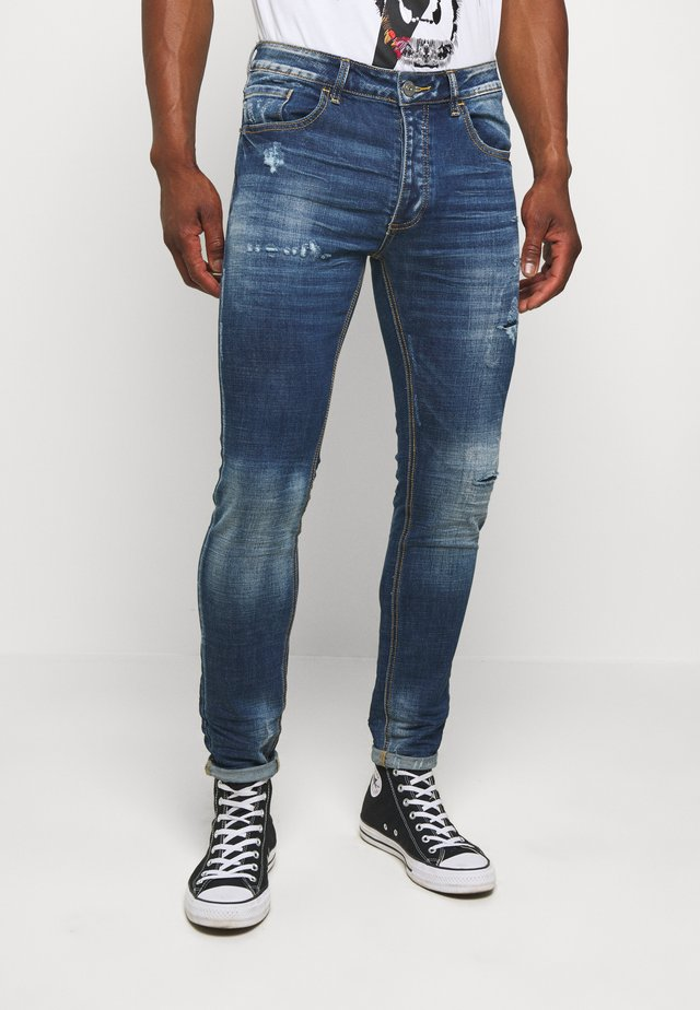 BERLIN CARROT JEANS - Jeans Slim Fit - blue