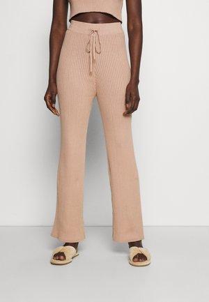 PANT - Pyjama bottoms - cappuccino tan