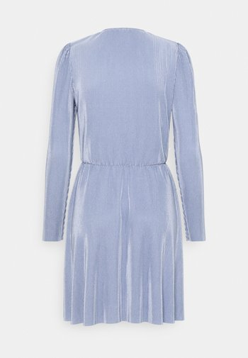ALL I NEED PLEAT DRESS - Sukienka koktajlowa - dusty blue