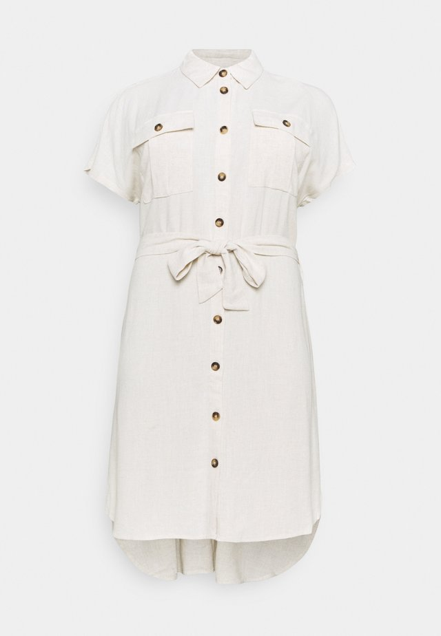 KCLILOA SHIRT DRESS - Skjortekjole - light sand