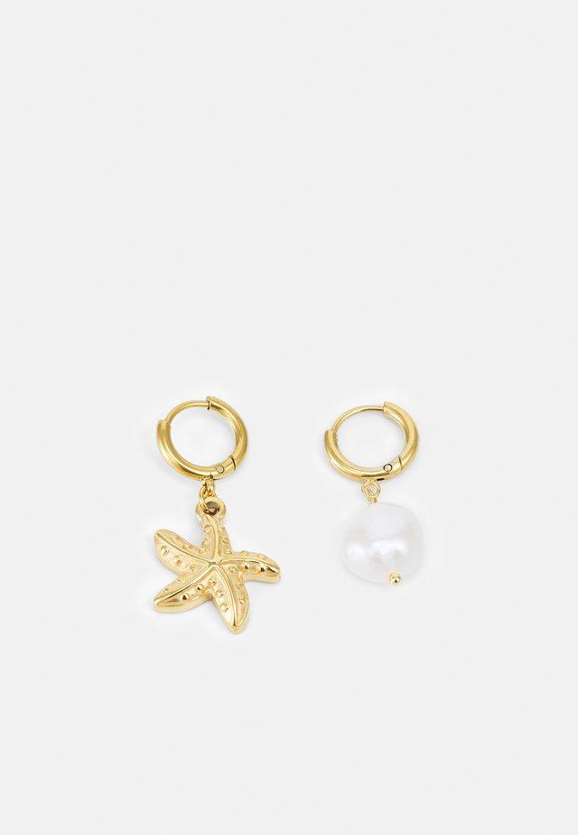 EARRING - Boucles d'oreilles - gold-coloured