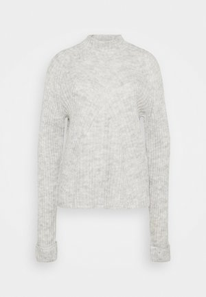 VMCARINA HIGHNECK - Jersey de punto - light grey melange