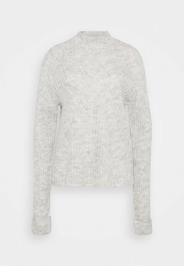 VMCARINA HIGHNECK - Trui - light grey melange