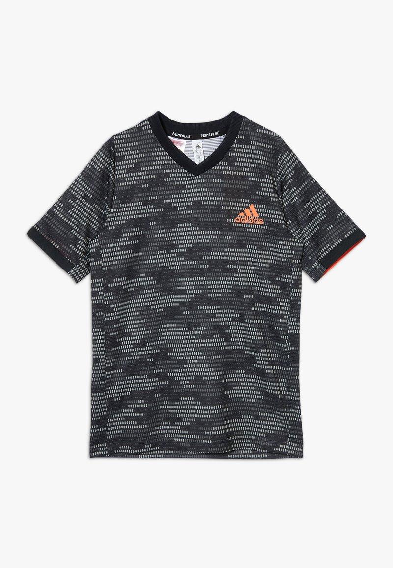 adidas Performance - Print T-shirt - black/truora