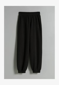 Bershka - PLÜSCH - Pantaloni sportivi - black - 5