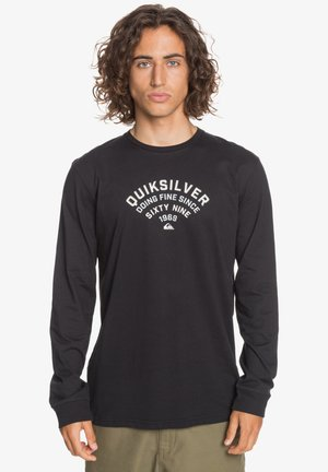 UP TO NOW  - Long sleeved top - black