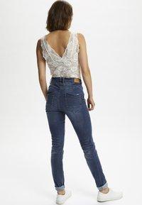 Cream - BIBIANA - Jeans Skinny Fit - rich blue denim - 1