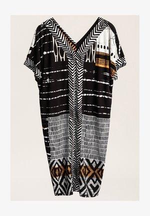Sukienka letnia - biały/czarny