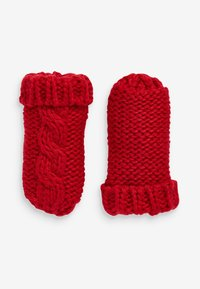 Next - CABLE  SET - Rukavice - red - 2