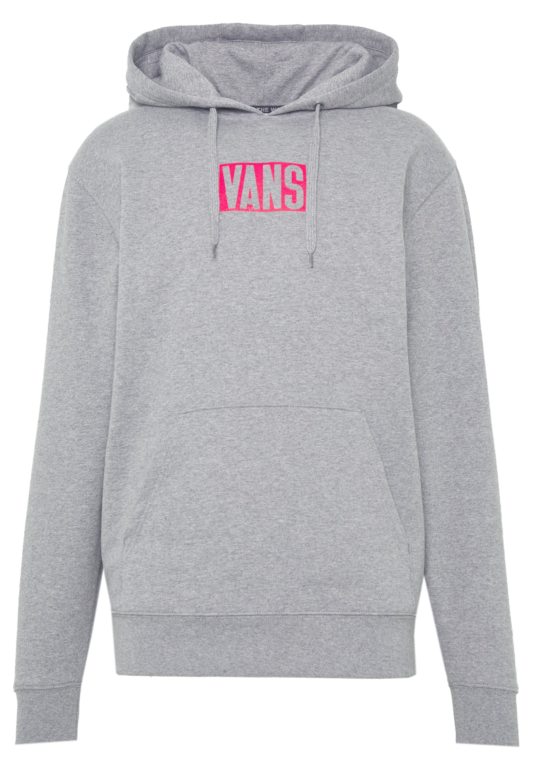 Vans NEW STAX - Sweat à capuche - cement heather