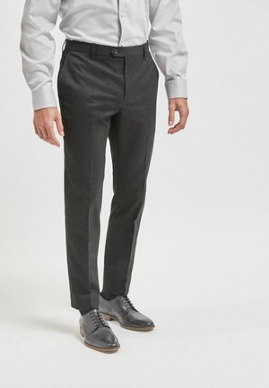 WITH STRETCH - Suit trousers - grey